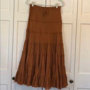 SILVER STREAM maxi skirt